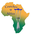 Crutches for Africa
